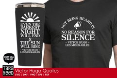 Victor Hugo Quotes from Les Miserables - SVG & Cut Files Product Image 3