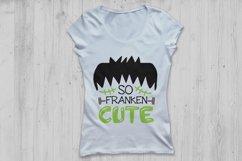 So Franken Cute Svg, Halloween Svg, Frankenstein Svg. Product Image 2