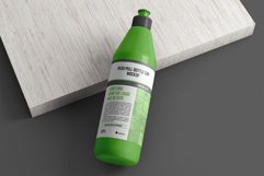 Push Pull Cap Dispenser Bottle Mockup Product Image 5