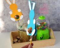 Lollipop holder template, candy holder, easter gift Product Image 5
