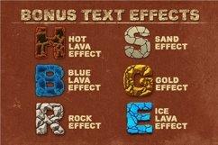 Web Font VINTAGE LAVA Bonus Text Effect Product Image 4