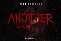 Another Scream Product Image 1