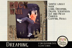 Digital Scrapbook Kit - Dreaming Fall Clipart Elements Product Image 2