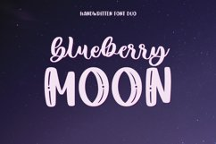 Blueberry Moon Font Duo Product Image 1
