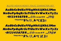 Bluto   Sans Serif Type Family Product Image 6