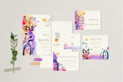 Modern graphic elements. Art leaves Product Image 2