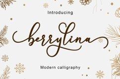 Berrylina Script Product Image 2