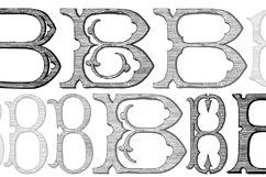 Victorian Alphabets B Product Image 3