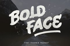 Bold Face Product Image 1