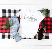 Christmas Shirt Mock Up Bundle Product Image 2