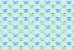 Sea Animal Clipart and Digital Papers Set Product Image 6