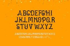 Golden dust typeface Product Image 2