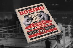 Boxing Match Flyer Product Image 2