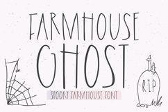 FARMHOUSE GHOST Halloween Font Product Image 1