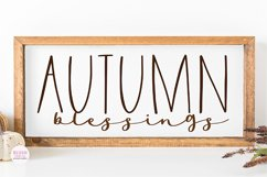 FARMHOUSE GHOST Halloween Font Product Image 4