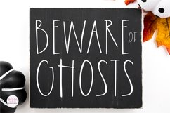 FARMHOUSE GHOST Halloween Font Product Image 6