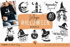 Halloween SVG Bundle 40 Designs Cut Files Product Image 1