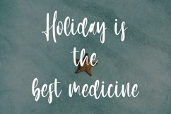 Finally Holidays - Summer Calligraphy Font Product Image 3