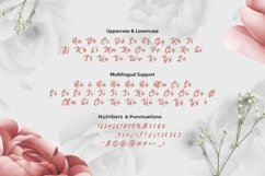 Web Font Fine Lentine - Valentines Font Product Image 4