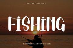 Fishing   Beautiful Handwritten Font Product Image 1
