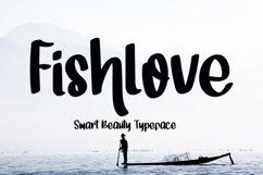 Fishlove - Beauty Handwritten Font Product Image 1