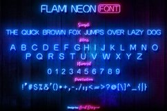 Flami Neon Font Product Image 2