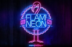 Flami Neon Font Product Image 1