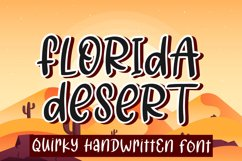 Florida Desert Product Image 1