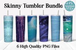 Sublimation Tumbler Mega Bundle - Colorful Fluid Art Product Image 2