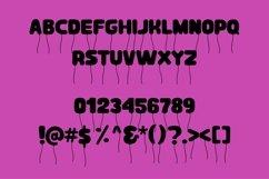 Web Font Fly away - a fun balloon display font Product Image 2