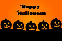 Cute Display Font - Halloween Blacky Product Image 2