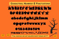 Cute Display Font - Halloween Blacky Product Image 4