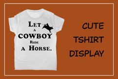 Cute Color Display Font - Cowboy Product Image 2
