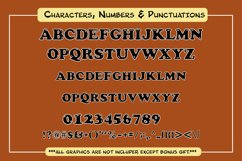 Cute Color Display Font - Cowboy Product Image 5
