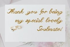 Cute Wedding Font - Akin Product Image 4