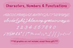 Cute Script Font - Cynthia Product Image 4