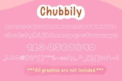 Cute Display Font Duo - Chubbily and Lovely Chubbily Product Image 2