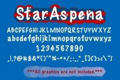 Cute Display Font Duo - Star Aspena and Aspena Product Image 6
