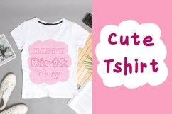 Cute Font Bundles - Chubbily Family Set Product Image 6