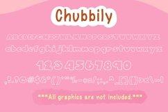 Cute Font Bundles - Chubbily Family Set Product Image 2