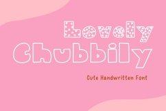 Cute Handwritten - Lovely Chubbily Product Image 1