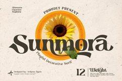 Sunmora - Playful Decorative Serif Product Image 1