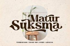 Sunmora - Playful Decorative Serif Product Image 4