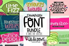 Handwritten Font Bundle for Crafters Product Image 1