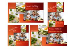 Animated Social Media Kit Canva Templates for Food Bloggers Product Image 3