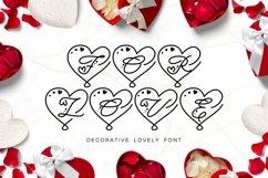 Web Font For Love - Monogram Font Product Image 1