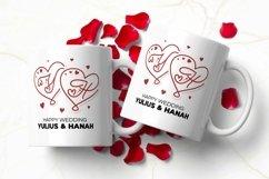 Web Font For Love - Monogram Font Product Image 4