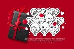 Web Font For Love - Monogram Font Product Image 2