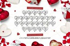 Web Font For Love - Monogram Font Product Image 5