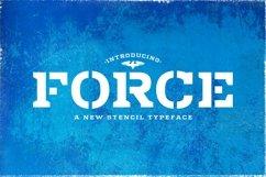 Web Font Force Product Image 1